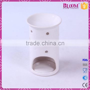 ceramic white candle incense burner indoor decoration