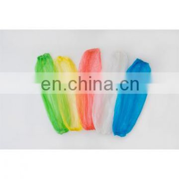 transparent single use PE arm cover for food industry length 40cm width 20cm