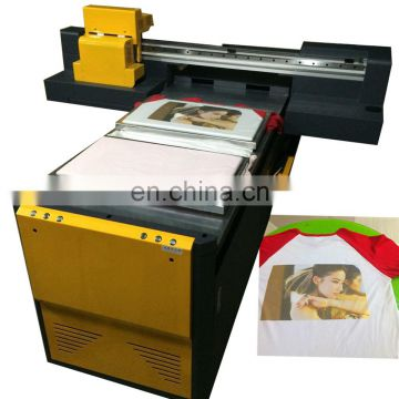 SLJET A2 A3 digital flatbed t-shirt printer printing machine for clothes sale