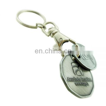 custom metal plate nickel novel trolley token with logo