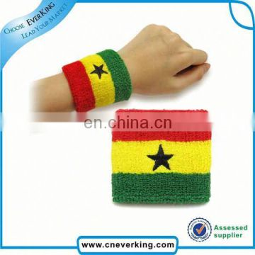 custom terry cloth wrist bands factory wholesale