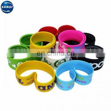 Promotional silicone mosquito repellent bracelet