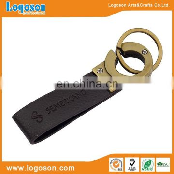 High quality popular leather key chain for promotion keyring