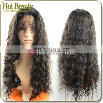 2013 Alibabas Wigs 100% Brazilian Lace Front Human Hair Wigs Curly