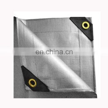 UV Coated Waterproof Polyethylene Silver Tarpaulin For Car