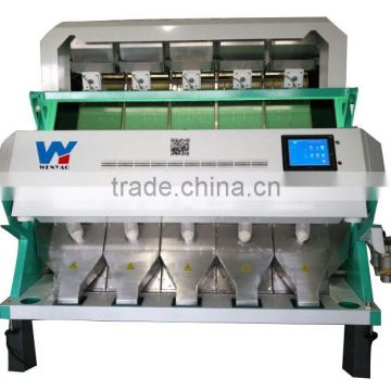 High Resolution and High Capacity splitting dried green and yellow peas color sorter machines
