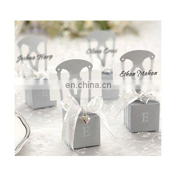 Silver Chair Favor Boxes