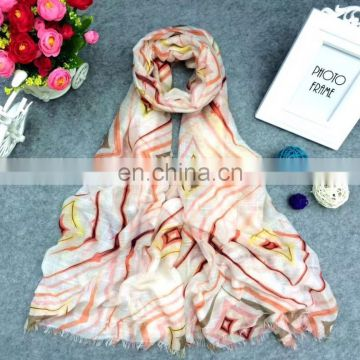 Spring And Summer printing scarf custom scarf printing