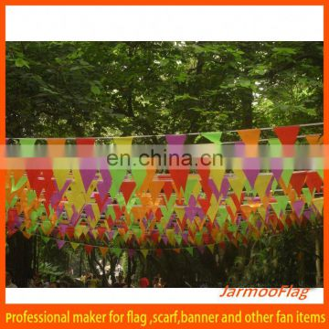 advertising promotional bunting and string flag