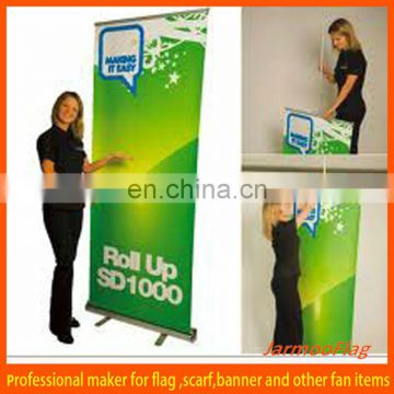 Custom advertising roll up stand banner