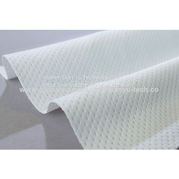 Non Dust Ultrasonic Cut Edge 2 ply Polyester Cleanroom Wiper