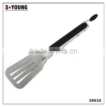 39032 Stainless Steel Kitchen Tongs BBQ Grill Food salad Tongs Slotted tong