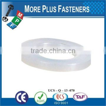 Made in Taiwan high quality screw washer PVC Washer plastic washer