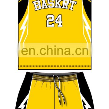 customized team sublimation basketball uniform
