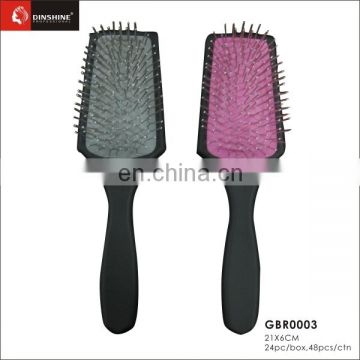 Best selling stainless come with special design lowest price hair comb