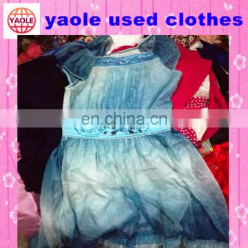 Free sorted Cheap wholesale used clothing bales export