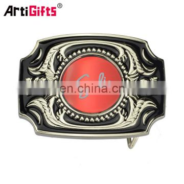 Hot sale custom beautiful metal pin belt buckle