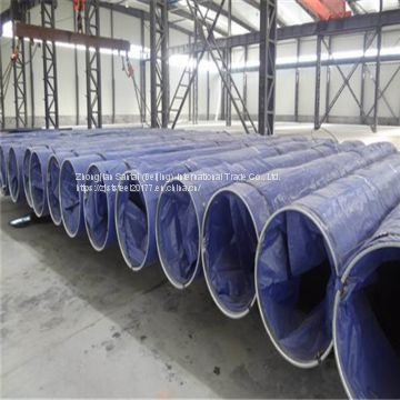 Large diameter Spiral Submerged Arc Welded SSAW Steel Pipe