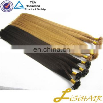 Virgin Remy Human Hair Extensions UK Double Drawn Prebonded Hair Extension Flat tip