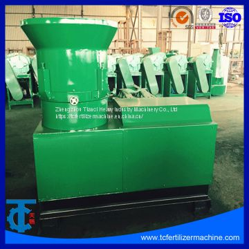 Factory Compost Fertilizer Making Flat Ring Die Extruder Granule Equipment