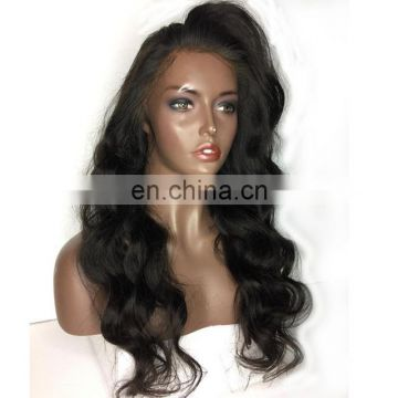 Brazilian Body Wave Full Lace Human Hair Wigs With Baby Hair