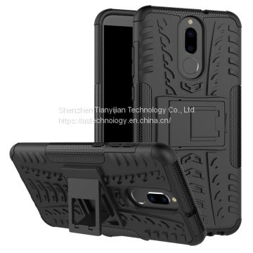 Hybrid Kickstand Protective Phone HARD TPU Case Cover For Huawei Mate 10 Lite
