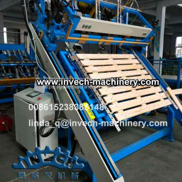 EPAL Wood Pallet Nailing Machine
