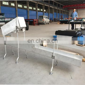 Small Portable Gold Sluice Box With Rubber Mat High Recovery