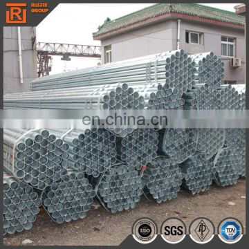 47-60mm hot dipped zinc galvanized scaffolding steel tube/pipe q235 ss400 stk400