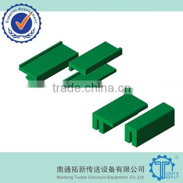 Z-type Polyethylene Wearstrip for Plastic Plate Top Chain