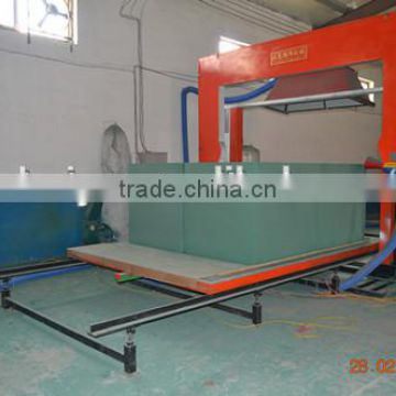 Floral foam reactor with stainless material for synthetic resin production line