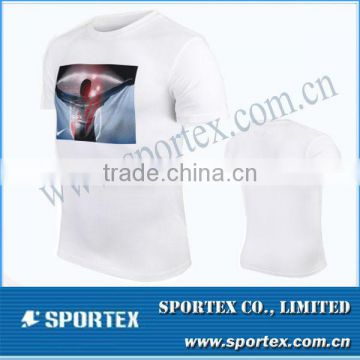 Men's jersey t shirt / Custom design t shirt / cotton shirts for mens