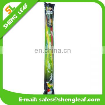 Custom printing inflatable thunder stick bang stick/noisy makers