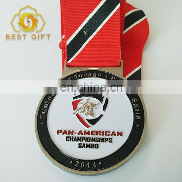 Wholesale Round shape Medal Custom Color Metal Medal For Games