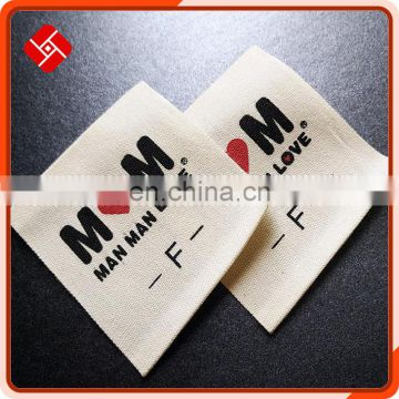High quality sew on clothing label and famous brand