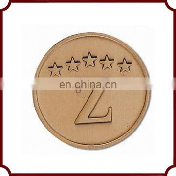 High quality metal carrom coins