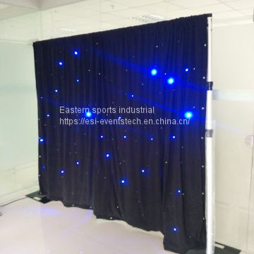 ESI factory Wholesale pipe and drape wedding backdrop stand for wedding