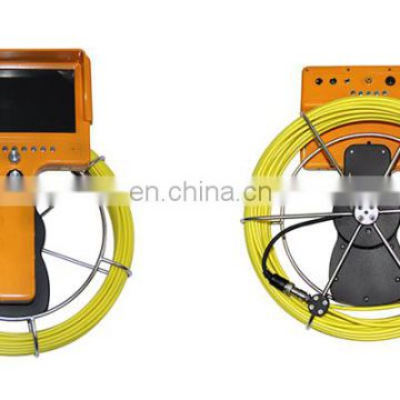 "Professional industrial video pipe inspection camera with 7"" handheld monitor TEC710DK5-SCJ"