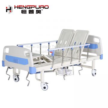 factory cheap medical equipment hospital beds with toilet for disabled patient