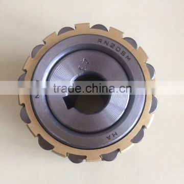 NTN RN205M brass cage double row eccentric bearing with eccentric collar RN205M+43