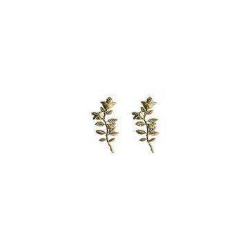 Professional casket accessories zinc alloy flower bronze color D013