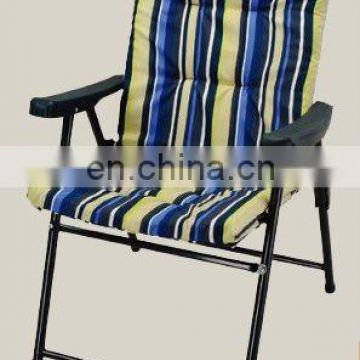 2017 Fashion outdoor folding cushion chairs