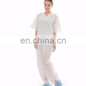 Professional Hospital Disposable Scrub Shirts and Pants