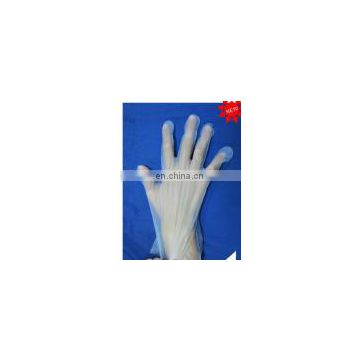 New product high quality Disposable vinyl black hand gloves