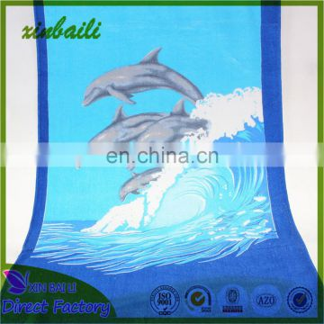 China factory Promotion Cheap Price Printed Cotton Beach Towel