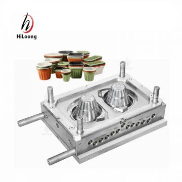 custom products china suppliers plastic flowerpot injection mould