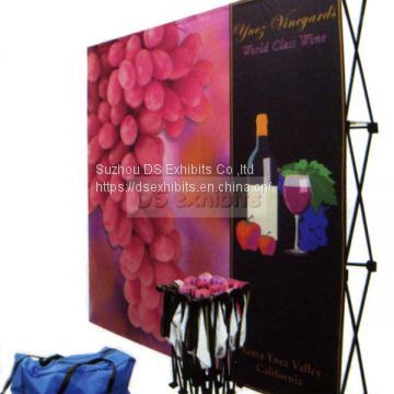 velcro pop up display magnetic style