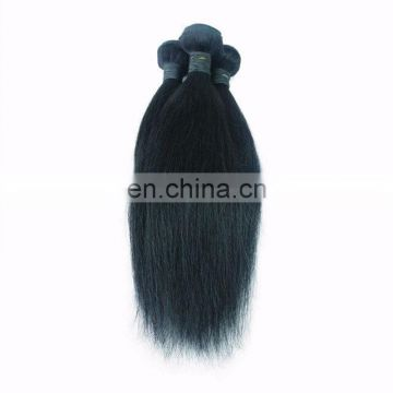 Cheap price top quality human hair weave virgin brazilian hair no mixed natural color straight hair extensions