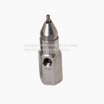 Dust suppression dust control humidification cooling system fog nozzle