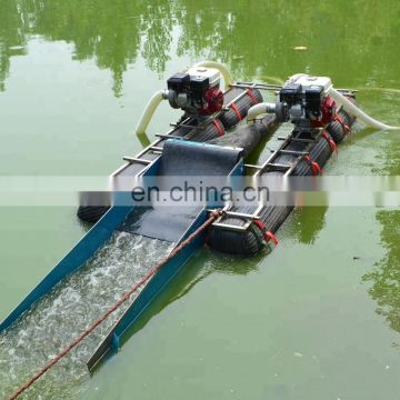 Small river dredging equipment